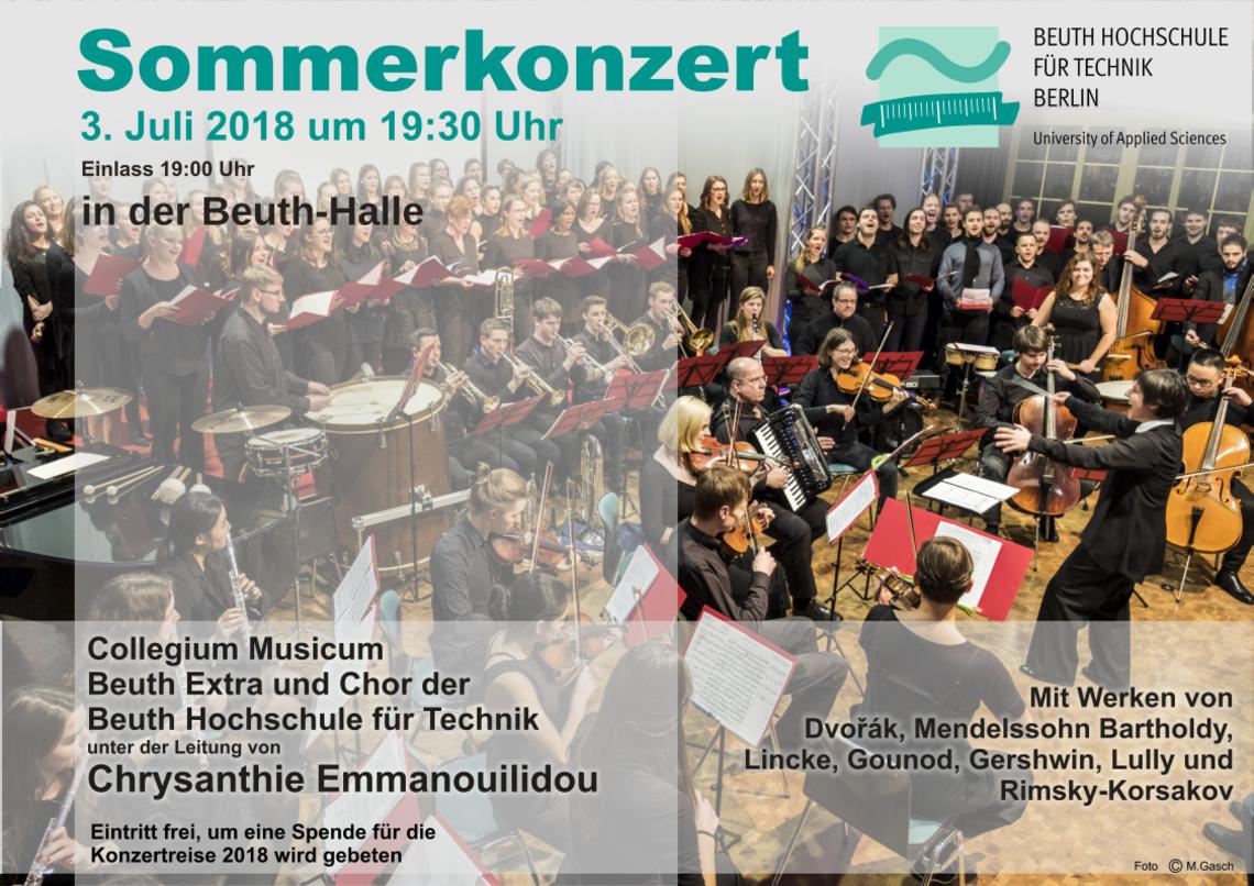 Programm Sommerkonzert 2018
